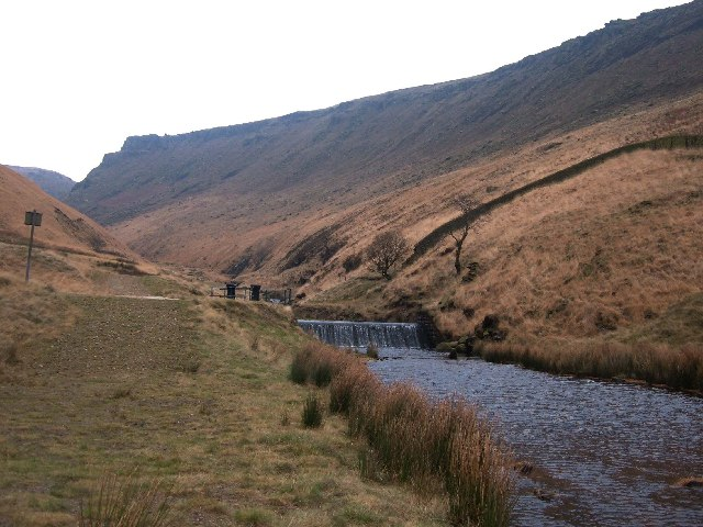 Greenfield Brook, Saddleworth - geograph.org.uk - 104875