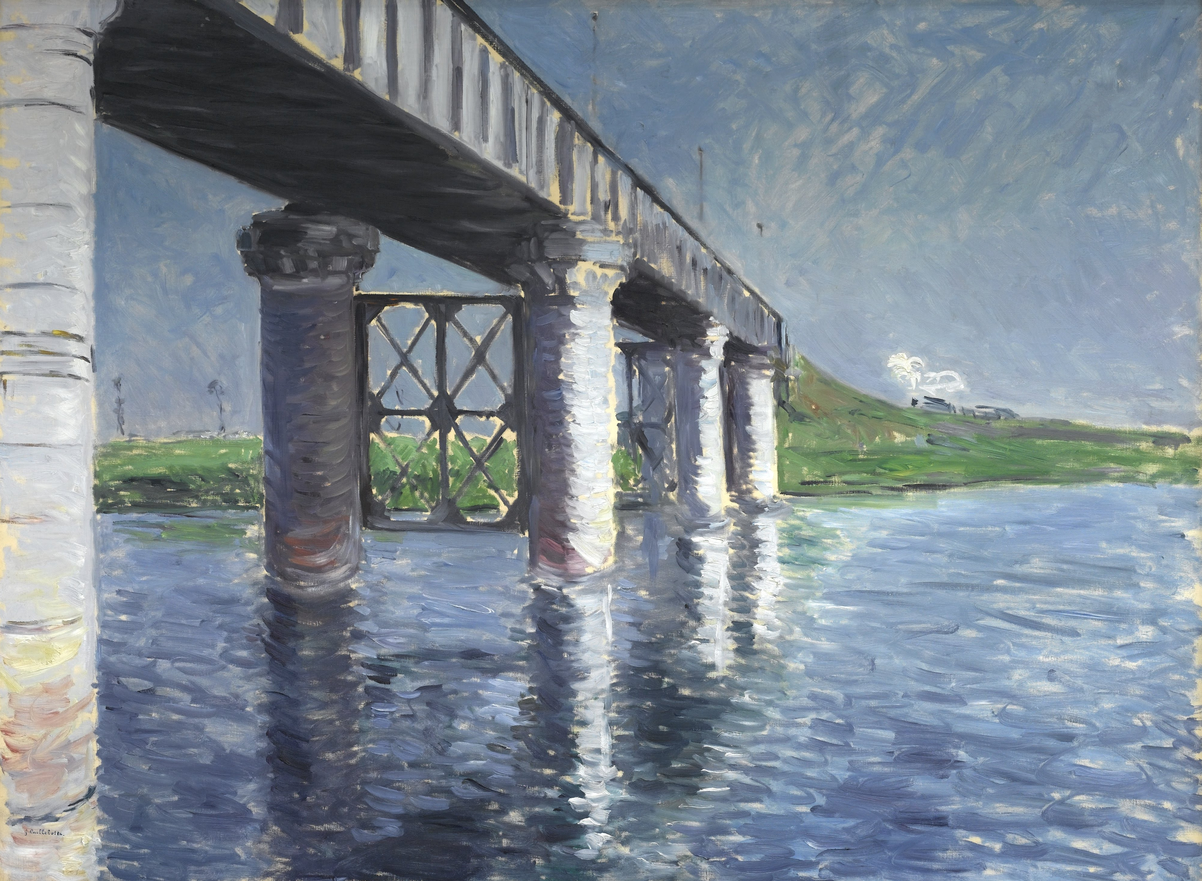 File gustave caillebotte the seine and the railroad for Imag fer forget argenteuil