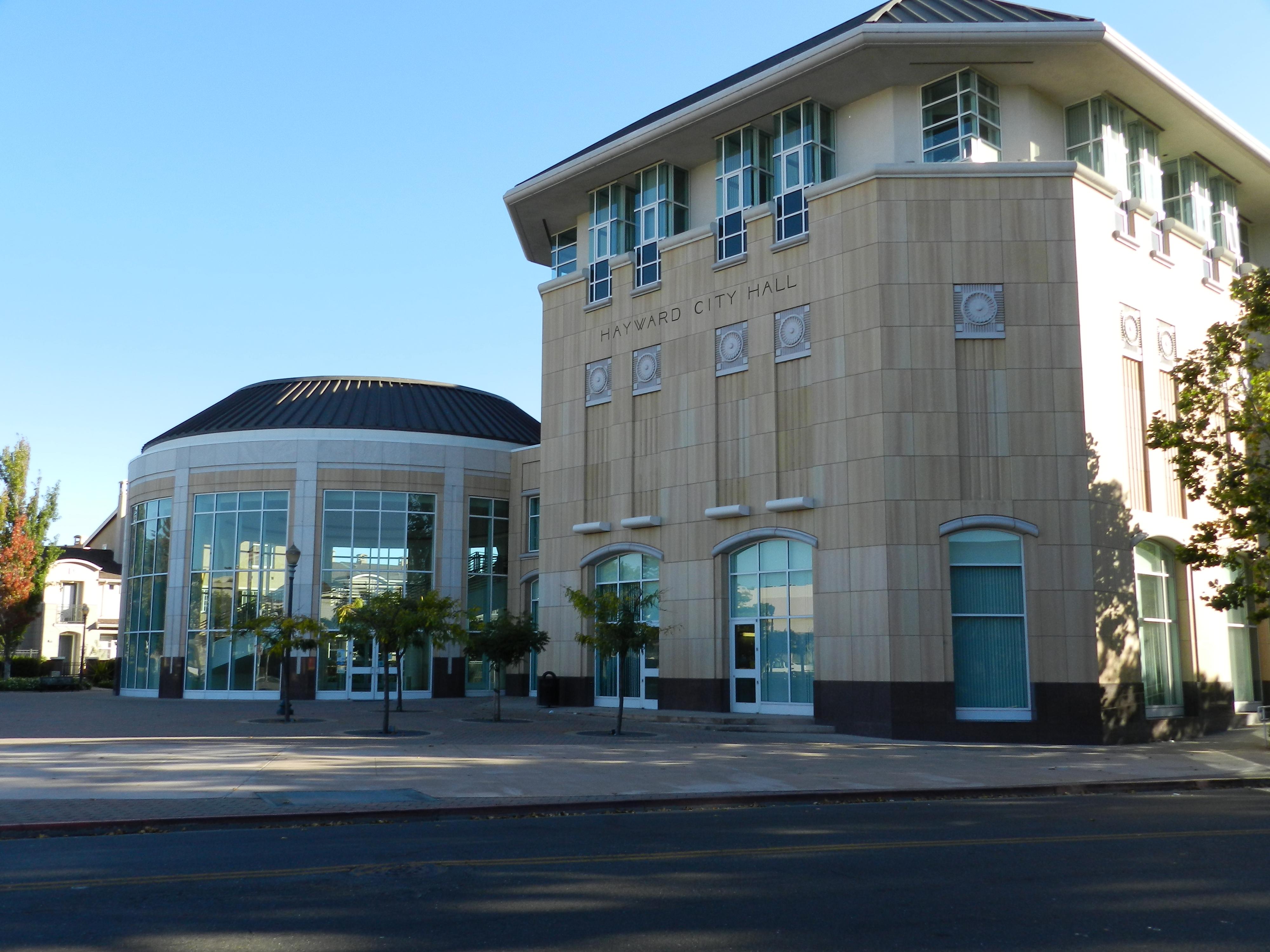 City Hall Plaza Hayward Ca