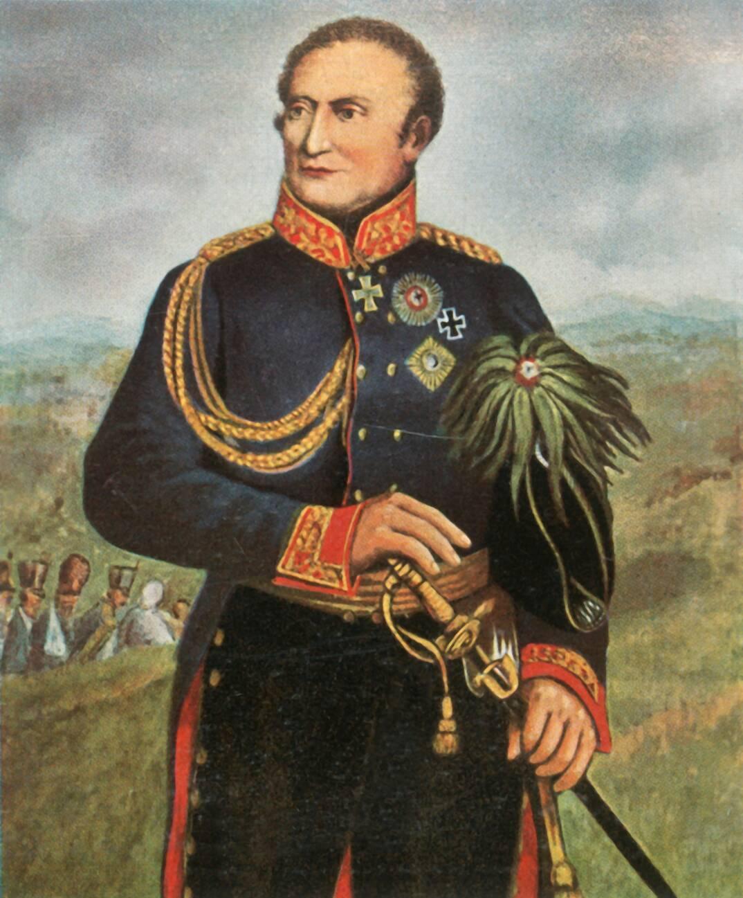 Friedrich Graf Kleist von Nollendorf prussian general