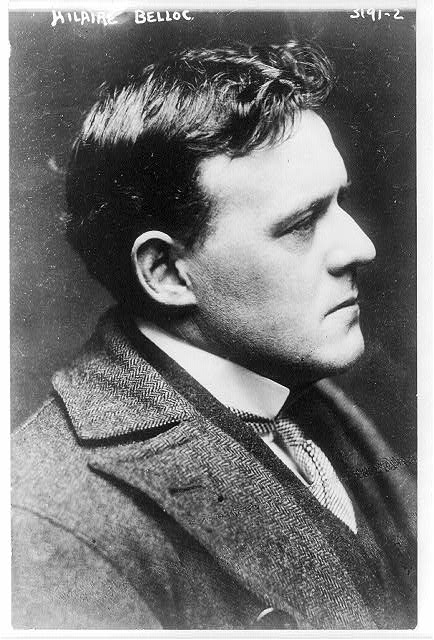 Hilaire Belloc - young