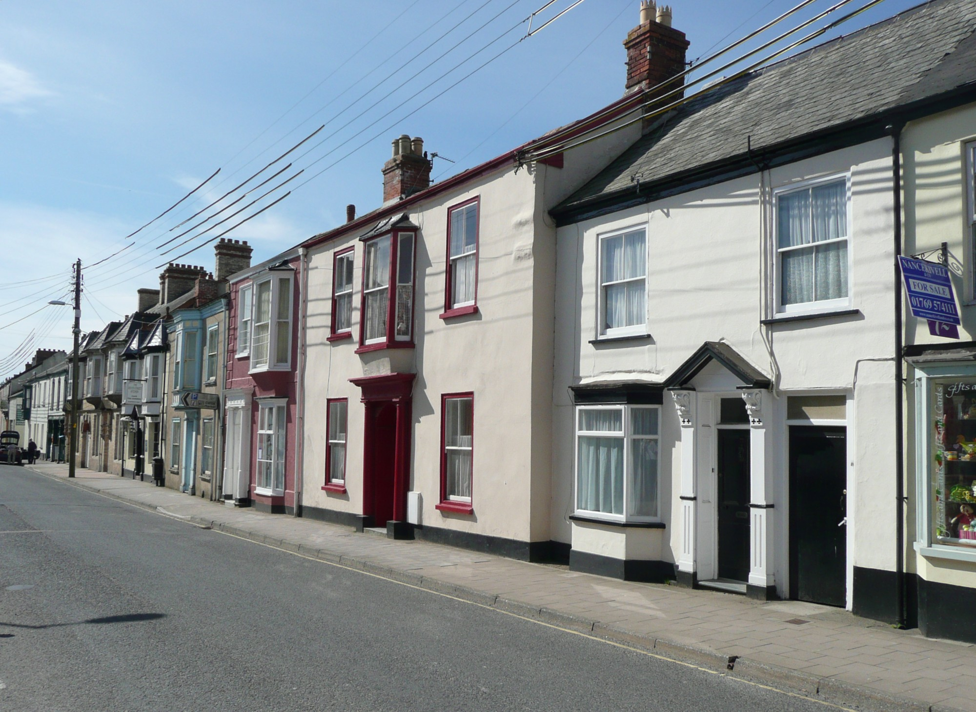 Filehouses in south street south molton geograph org uk