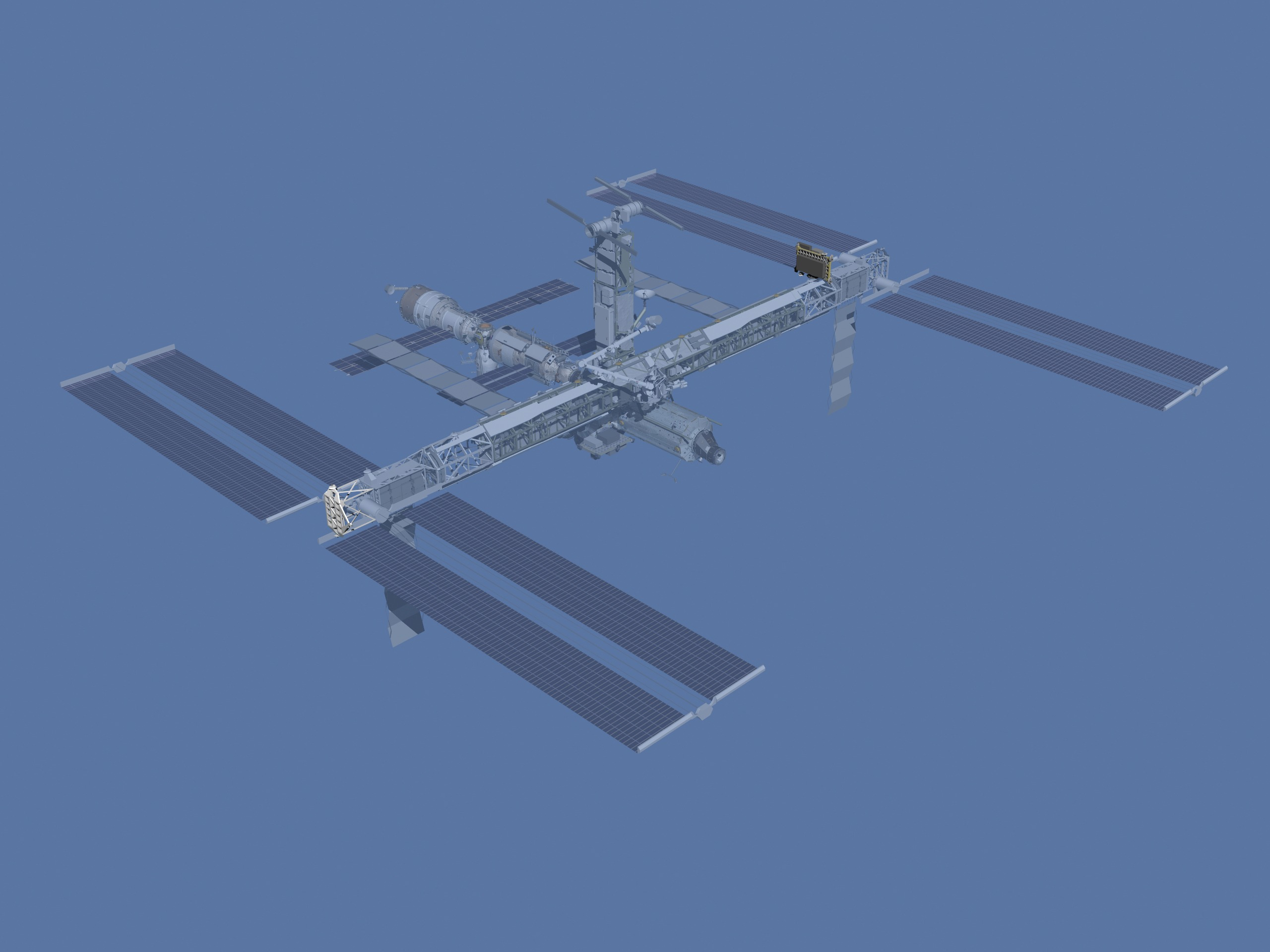 Animation assemblage ISS ISS_after_ATV1