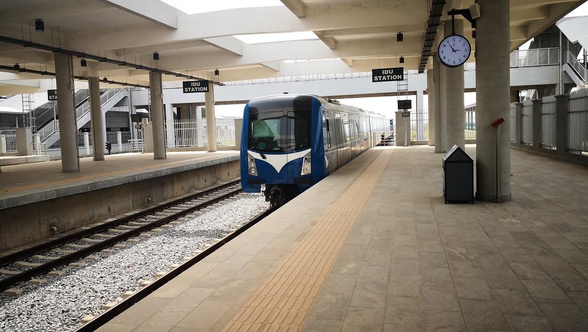 Idu Station Platform, Nigeria