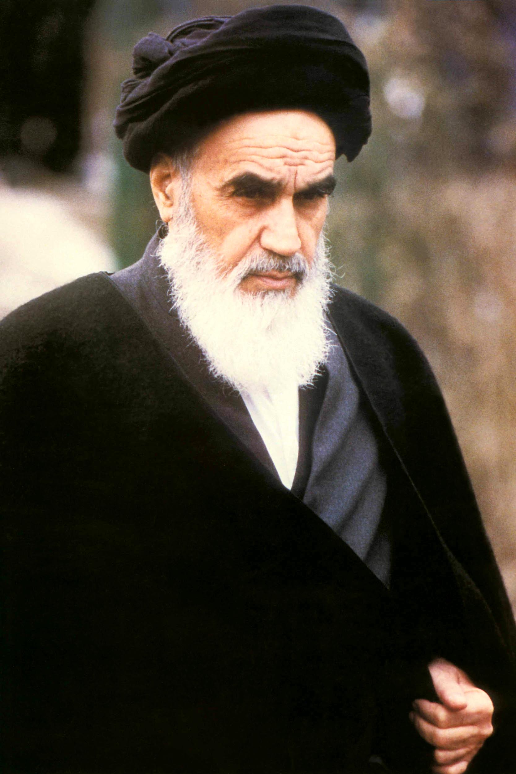 Imam Khomeini Potrait