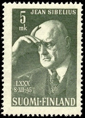 English: Postage stamp depicting the Finnish c...