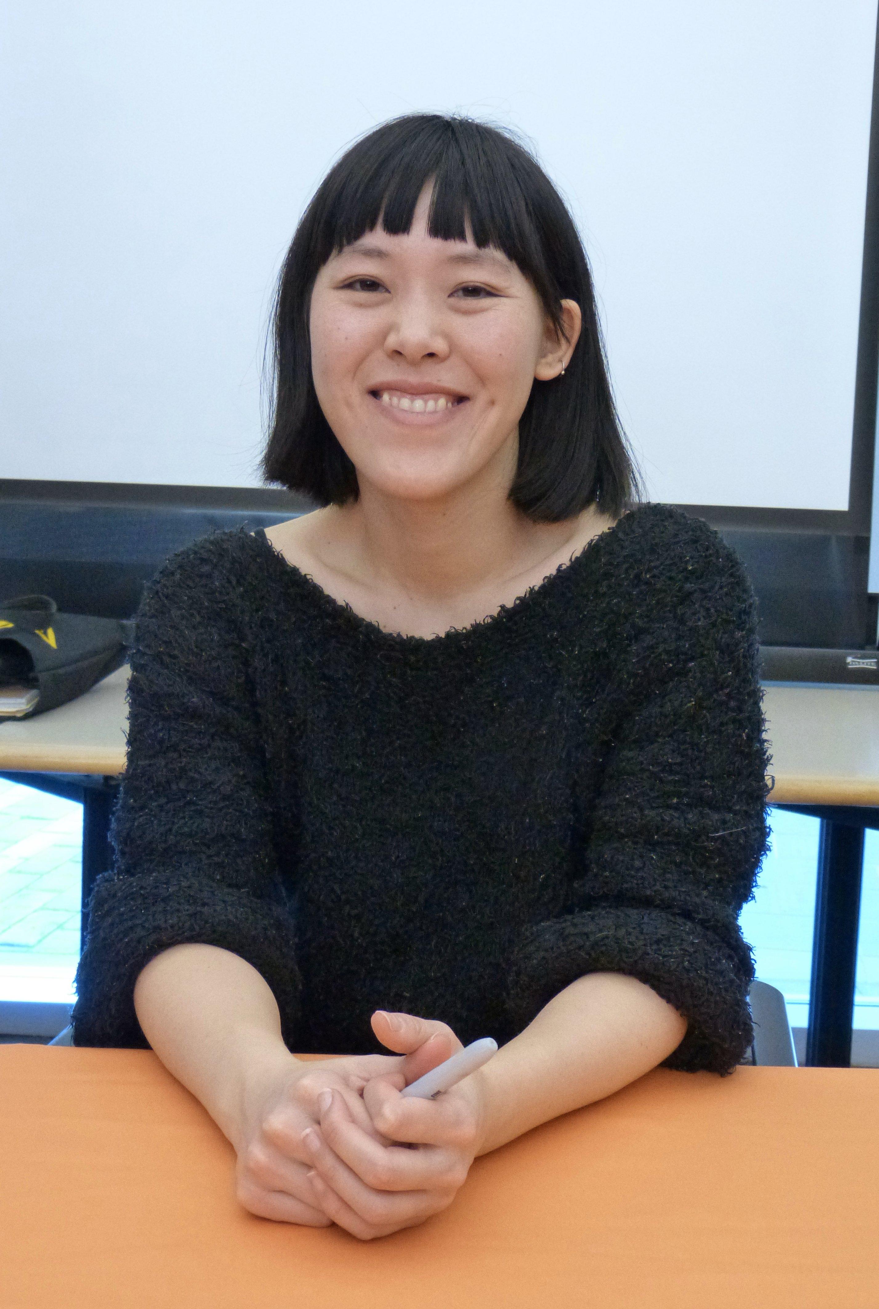 alt=A photo of Jen Wang in 2017