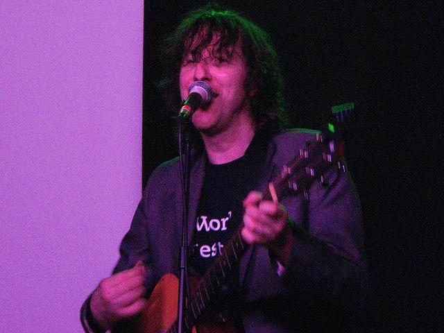Jim Bob performing at The Garage, 2010