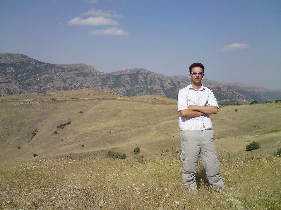 چشم انداز طبیعت خان کندی در تابستان