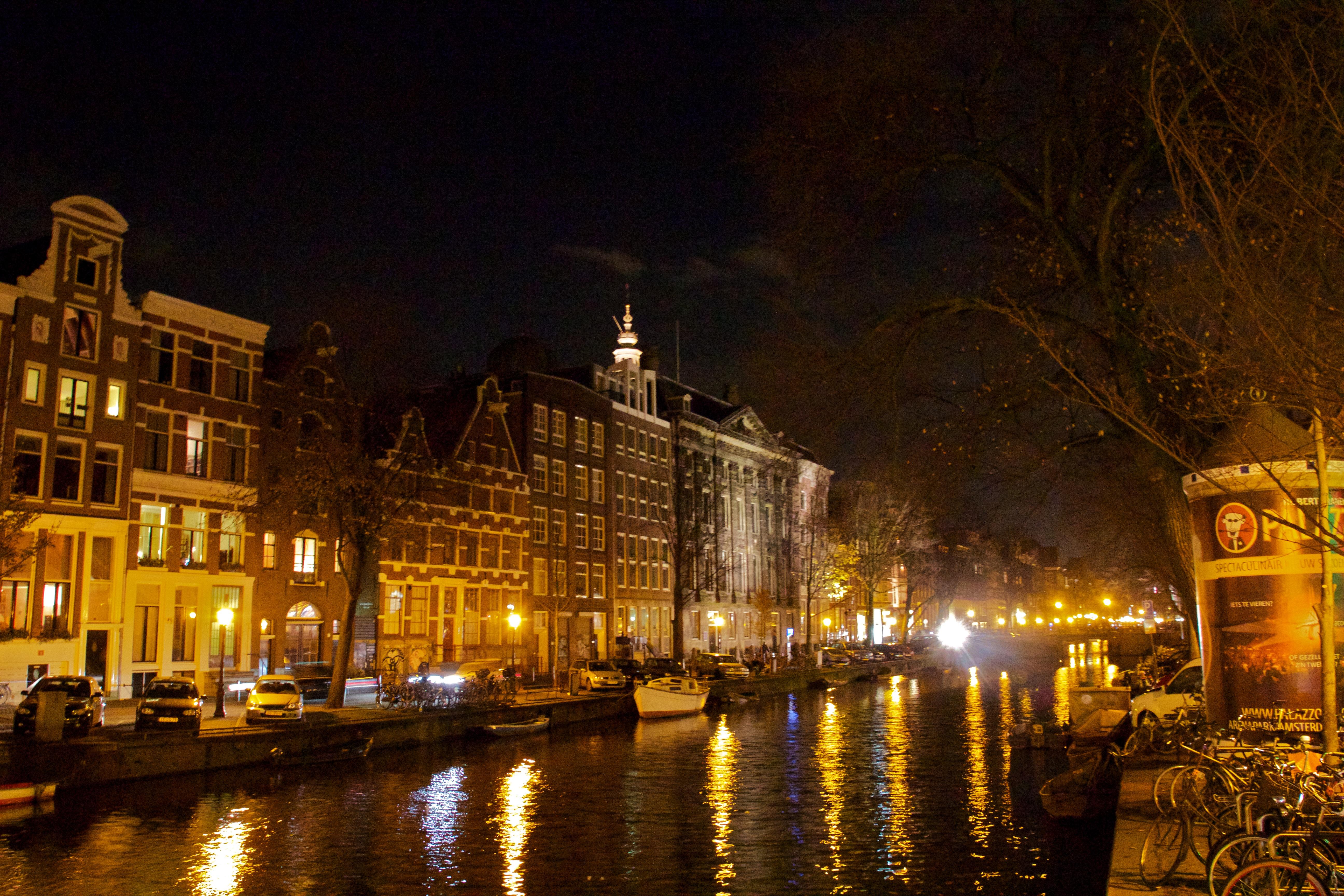 File Kloveniersburgwal Amsterdam At Wikimedia