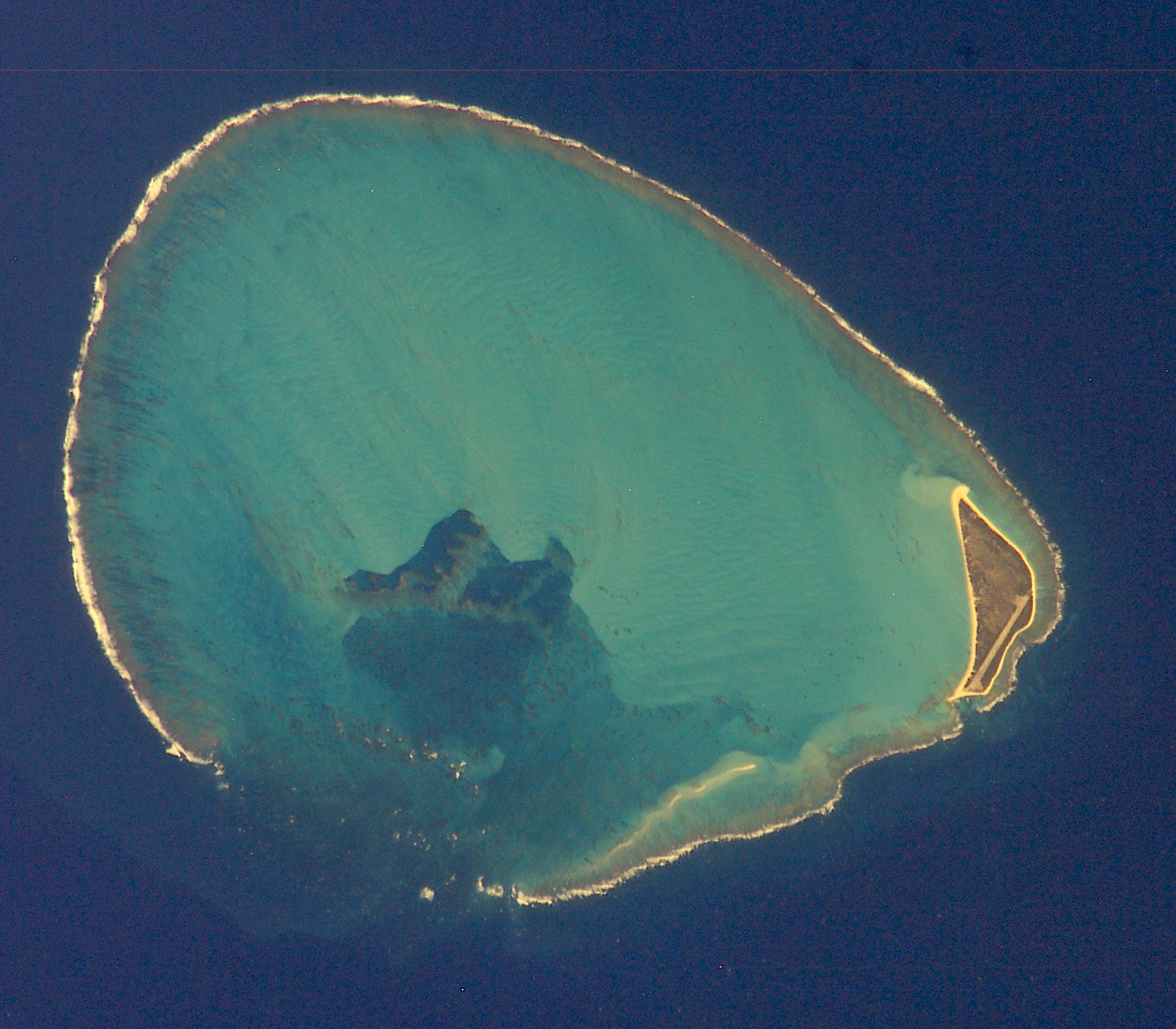 Bikini atoll to johnston island