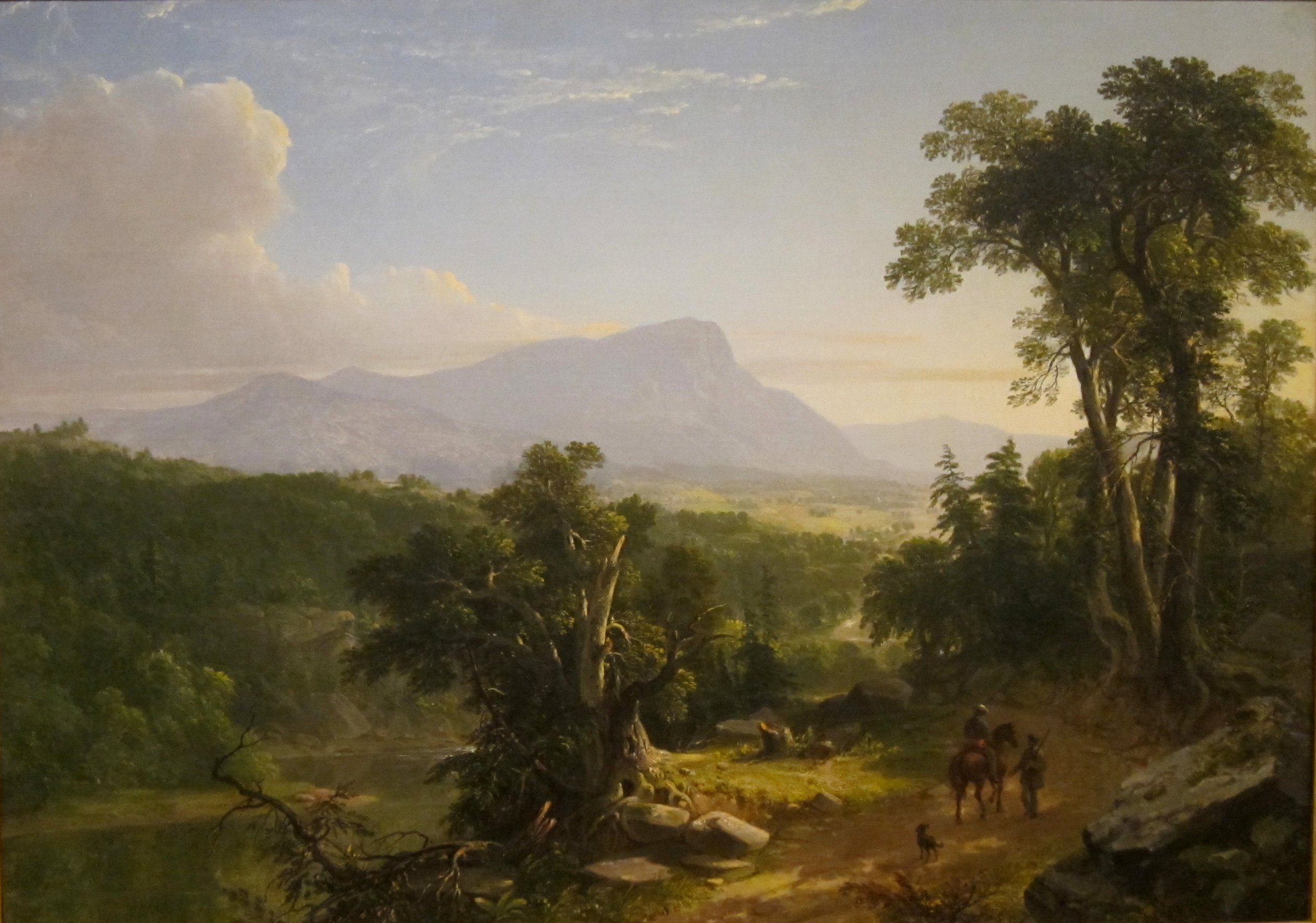 File Landscape Composition In The Catskills By Asher B Durand San Go Museum Of Art Jpg