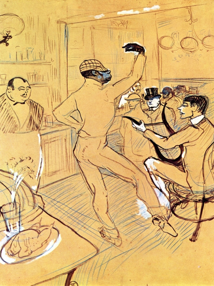 Image result for toulouse lautrec chocolat public domain