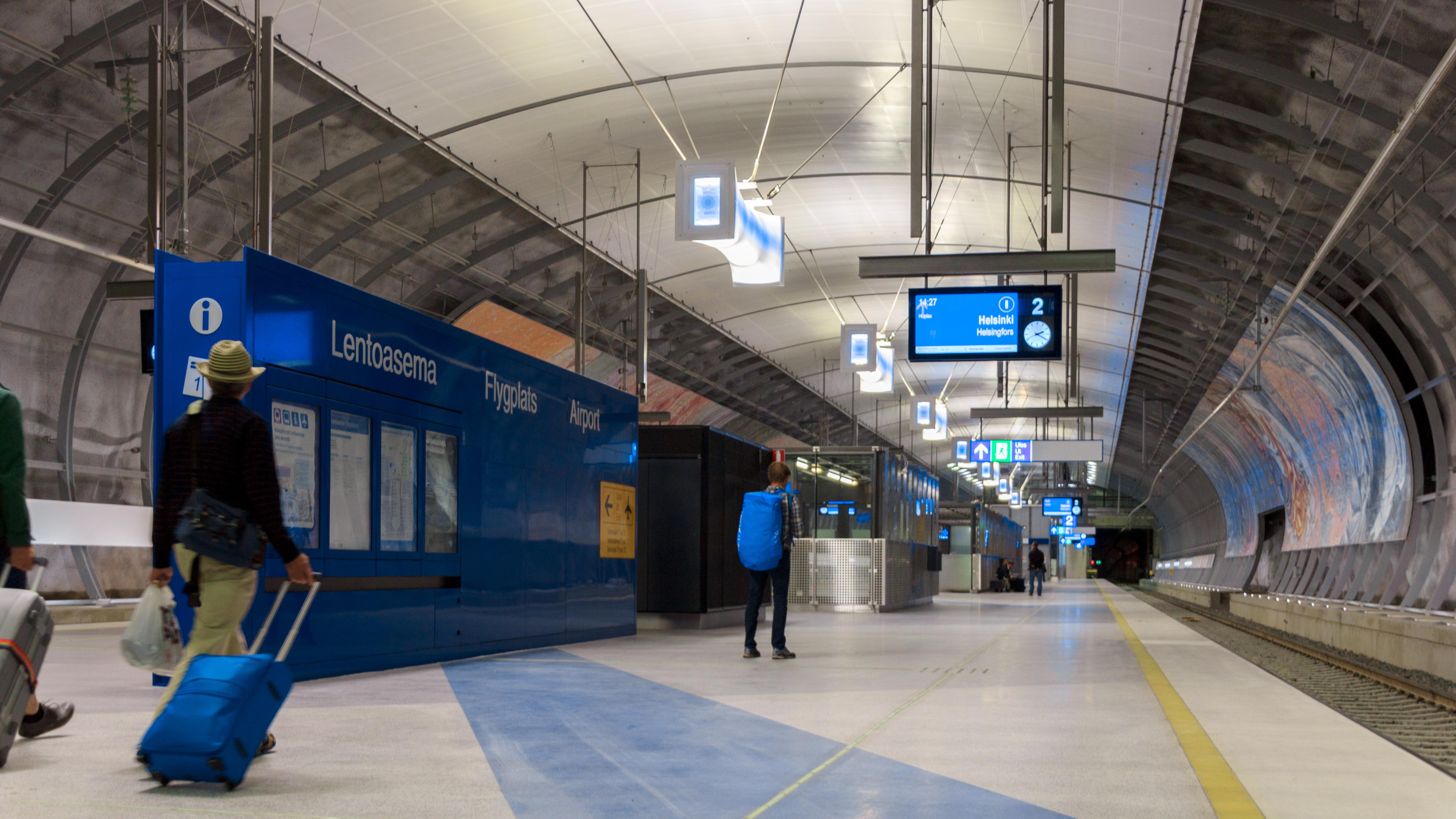 Helsinki Vantaa Juna Asema