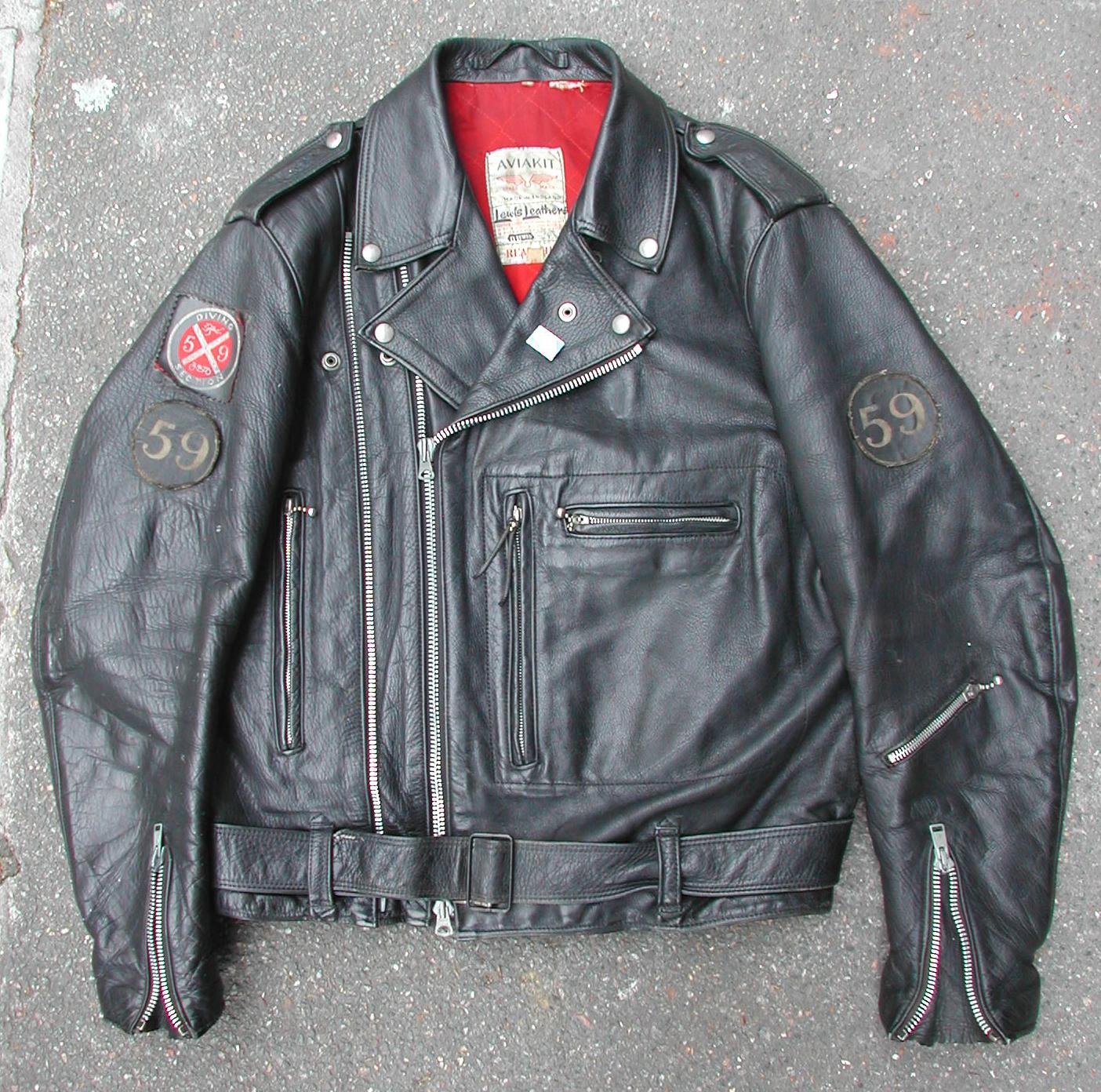 Lewis leather jacket