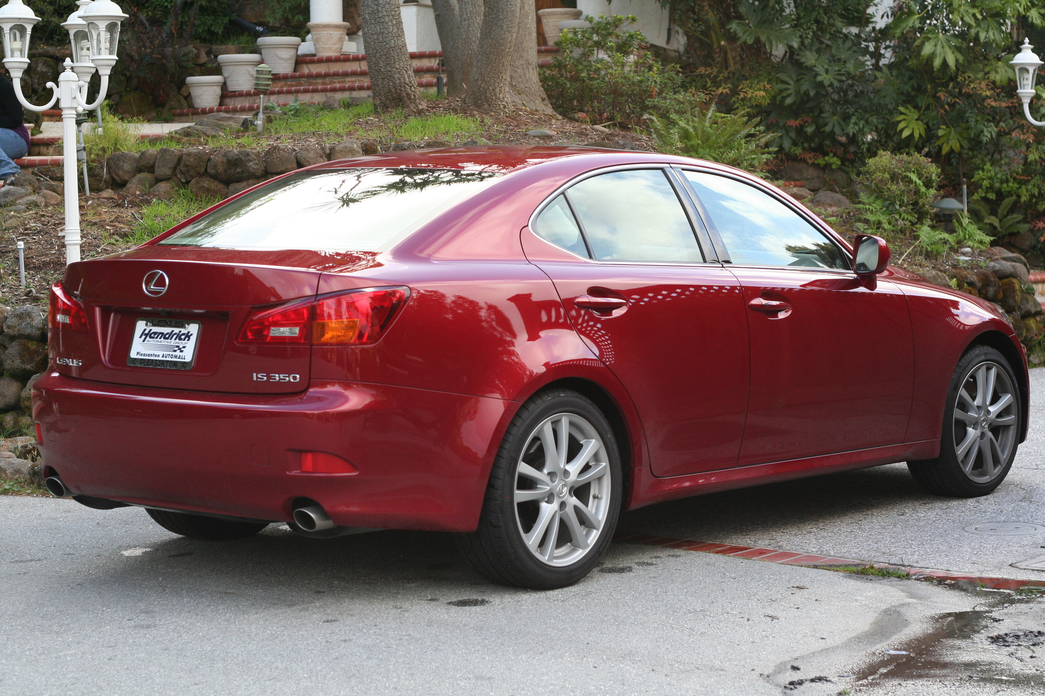 Lexus Red Car