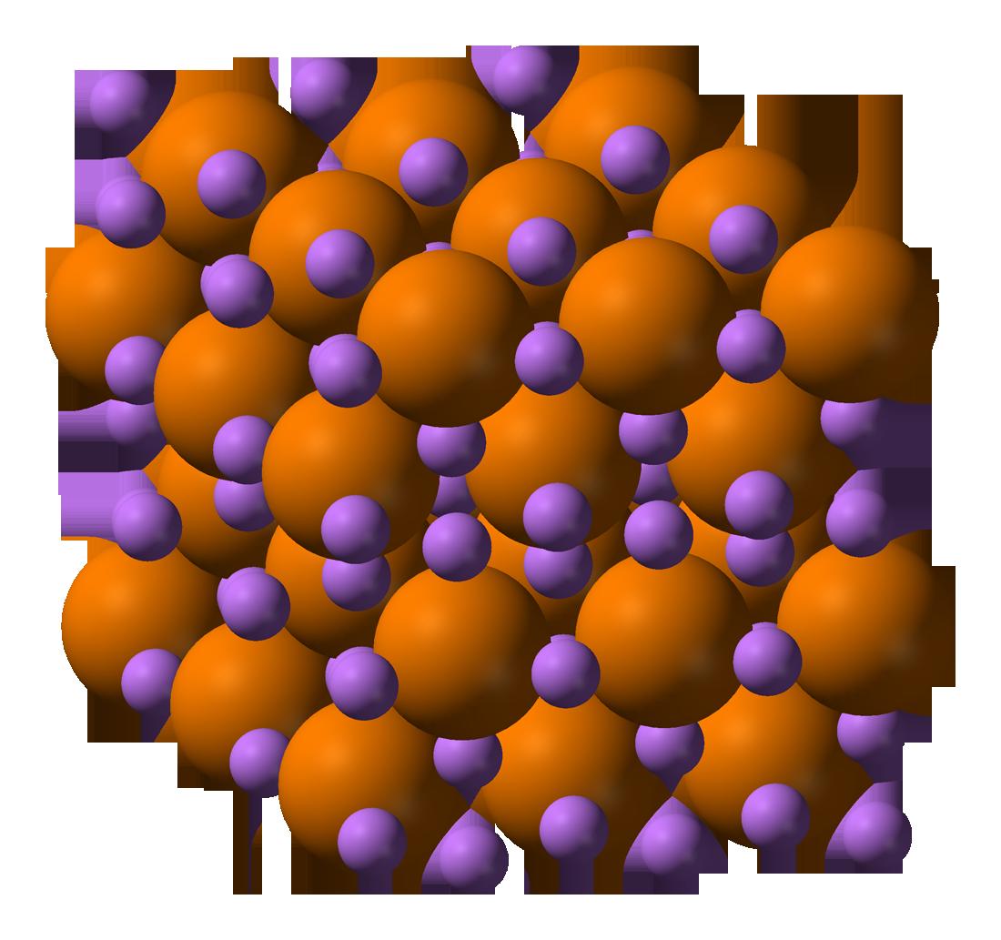 Description lithium phosphide 3d balls