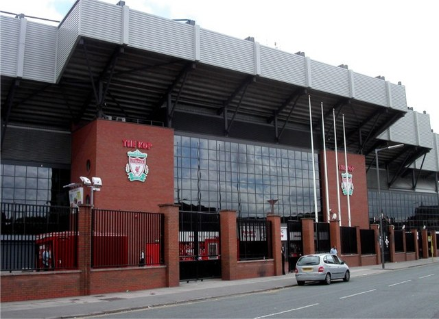 Liverpool FC, entrance to The Kop - geograph.org.uk - 328832