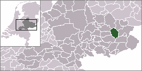 Ruurlo Dorp in Gelderland, Netherlands