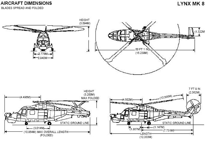 Image:Lynx Mk8 Helicopter Dimensions