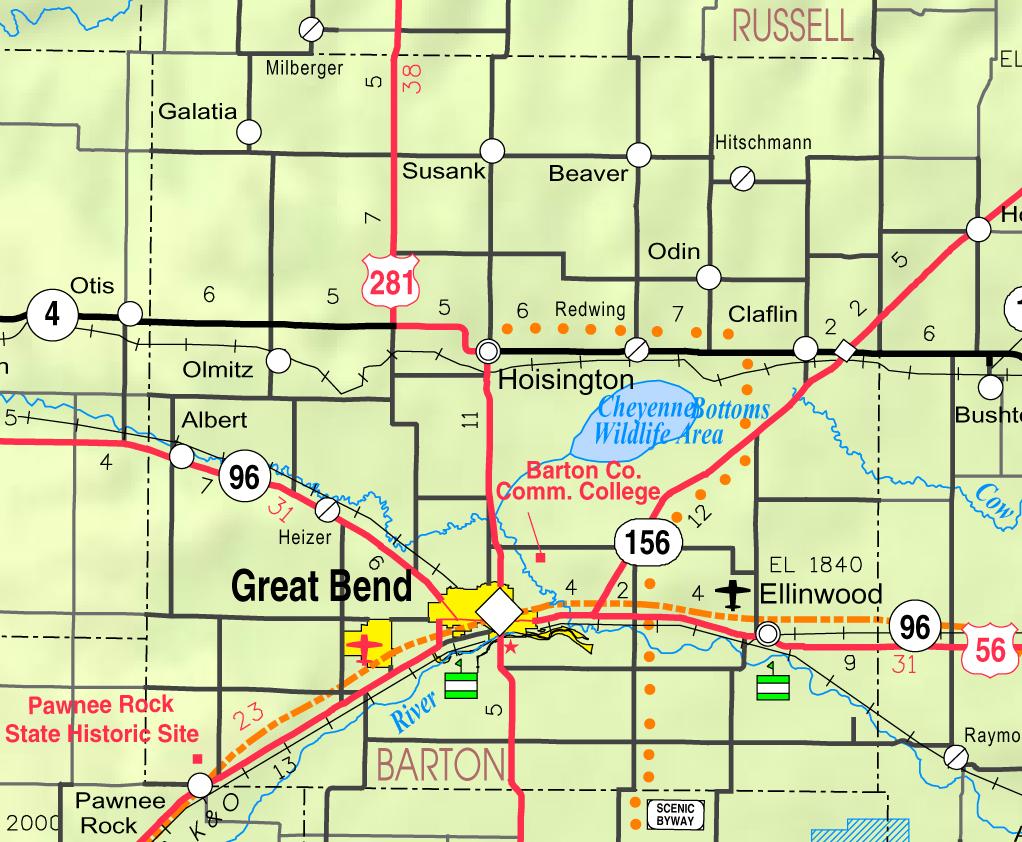 Hoisington United States  City new picture : Map of Barton Co, Ks, USA Wikipedia, the free encyclopedia