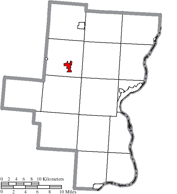 FileMap of Gallia County Ohio Highlighting Rio Grande Villagepng