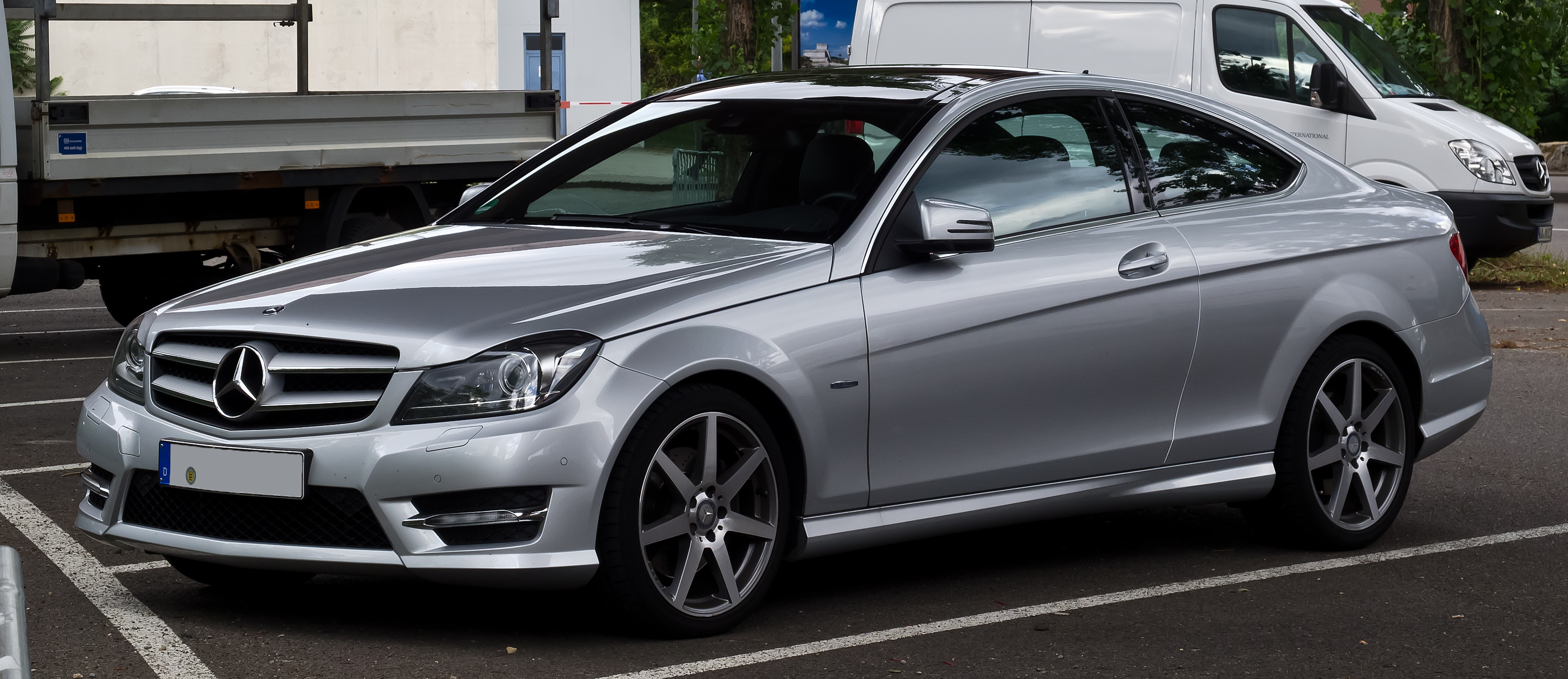 File mercedes benz c 350 blueefficiency coup sport paket for Mercedes benz 350 amg