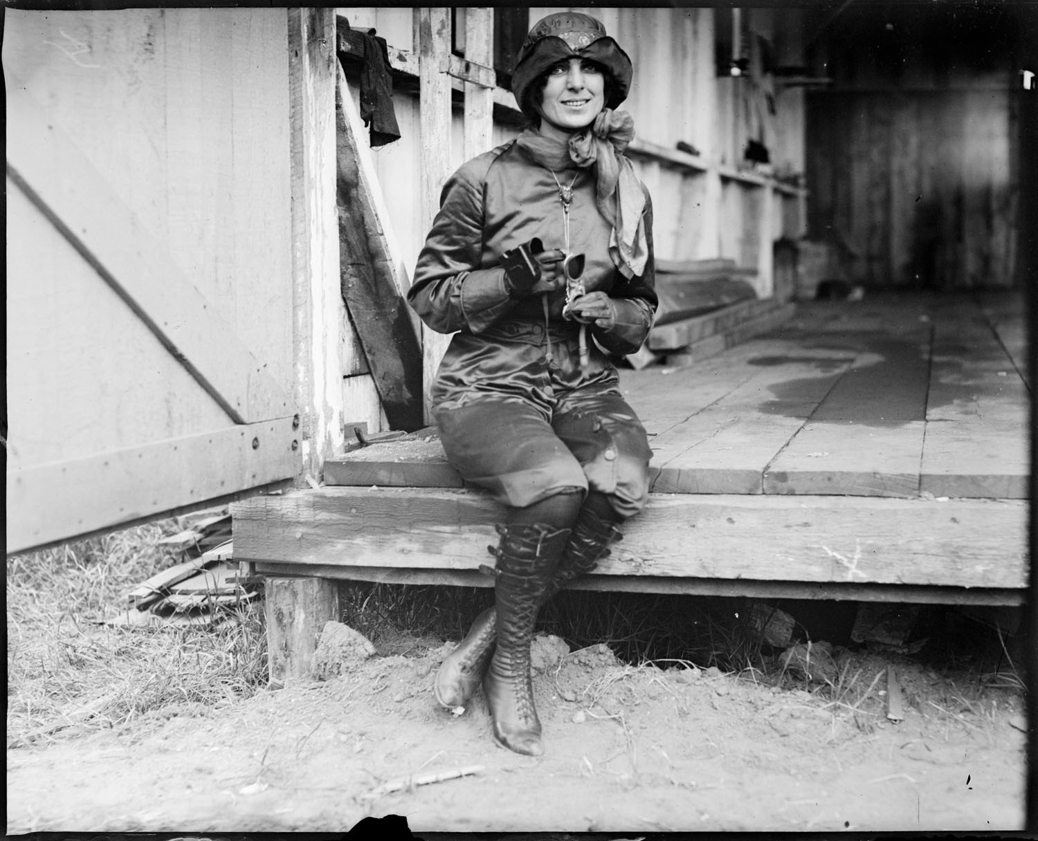 file miss harriet quimby boston girl aviator who lost her life