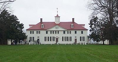 Mount Vernon from the north. Hercules was one of two cooks listed in the 1786 Mount Vernon Slave Census.