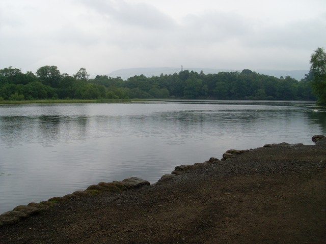 Mugdock Loch from the south - geograph.org.uk - 1375947
