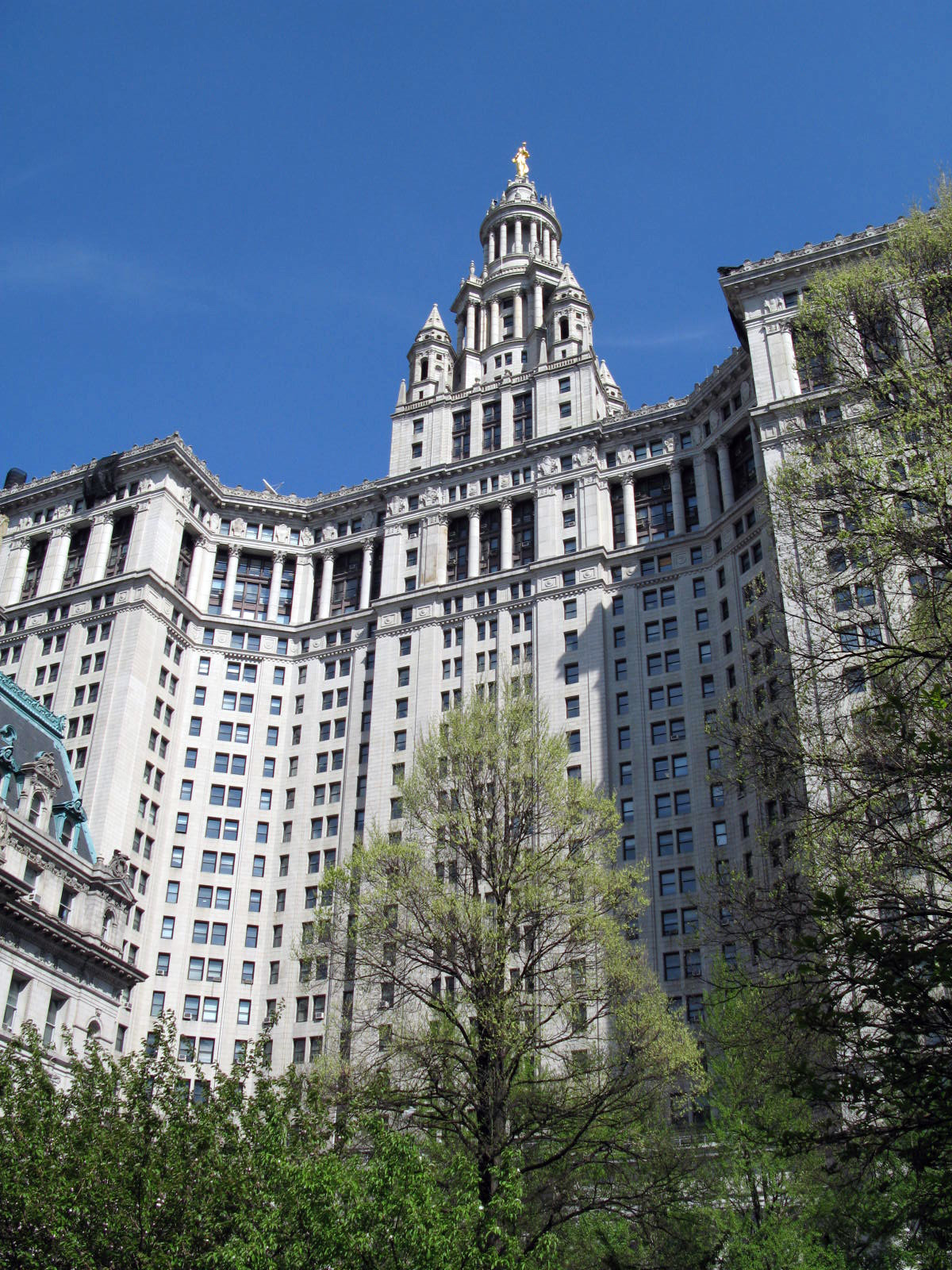 manhattan municipal building wikipedia. Black Bedroom Furniture Sets. Home Design Ideas