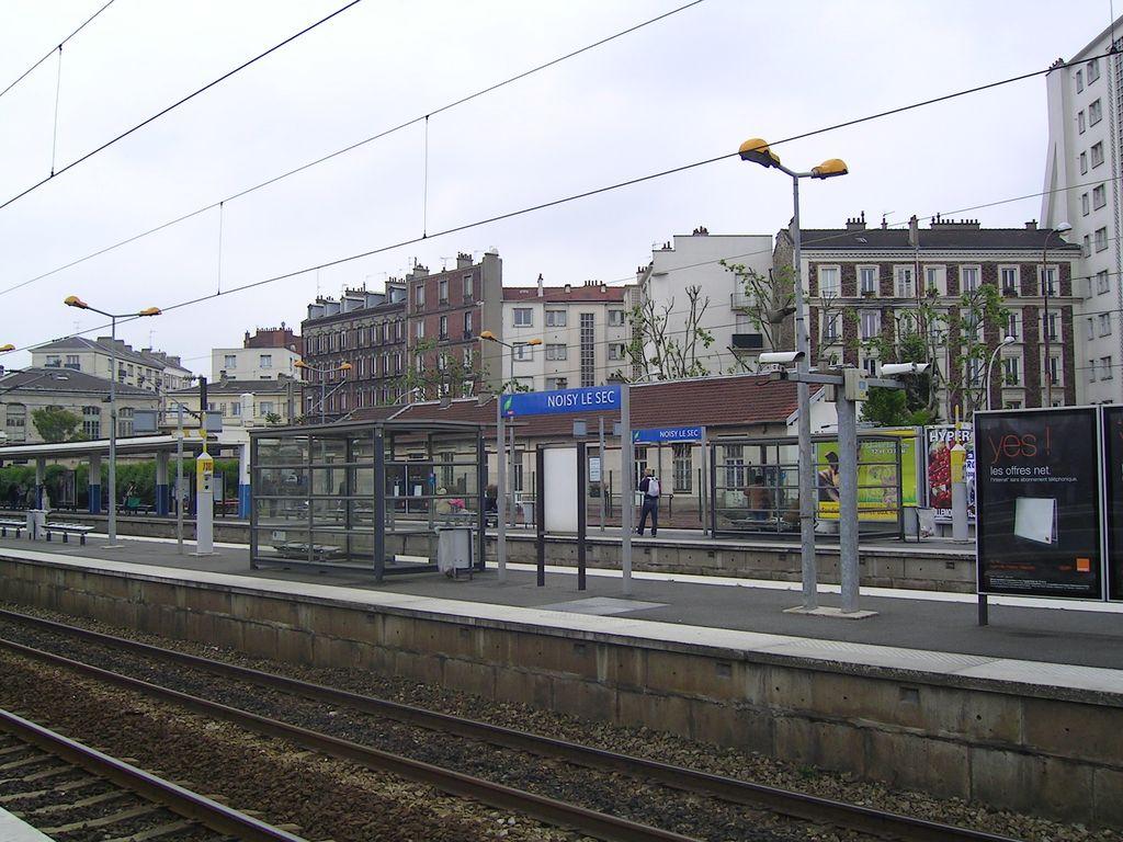 Noisy le sec paris rer wikipedia for Rer wikipedia
