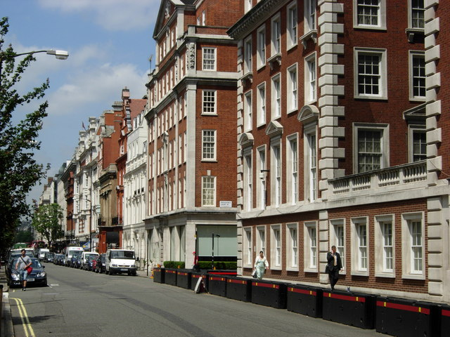 File north audley street mayfair for Quartiere mayfair londra