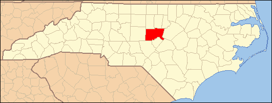 National Register of Historic Places listings in Chatham County