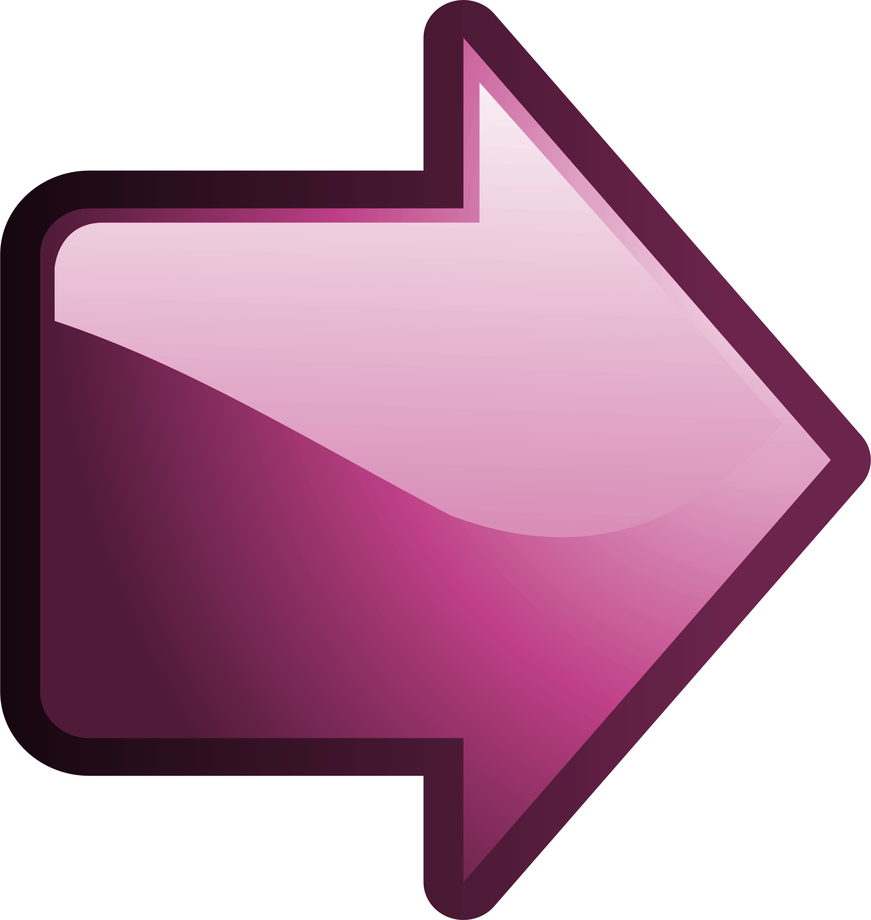 Description Nuvola arrow right pink pngRight Icon Png