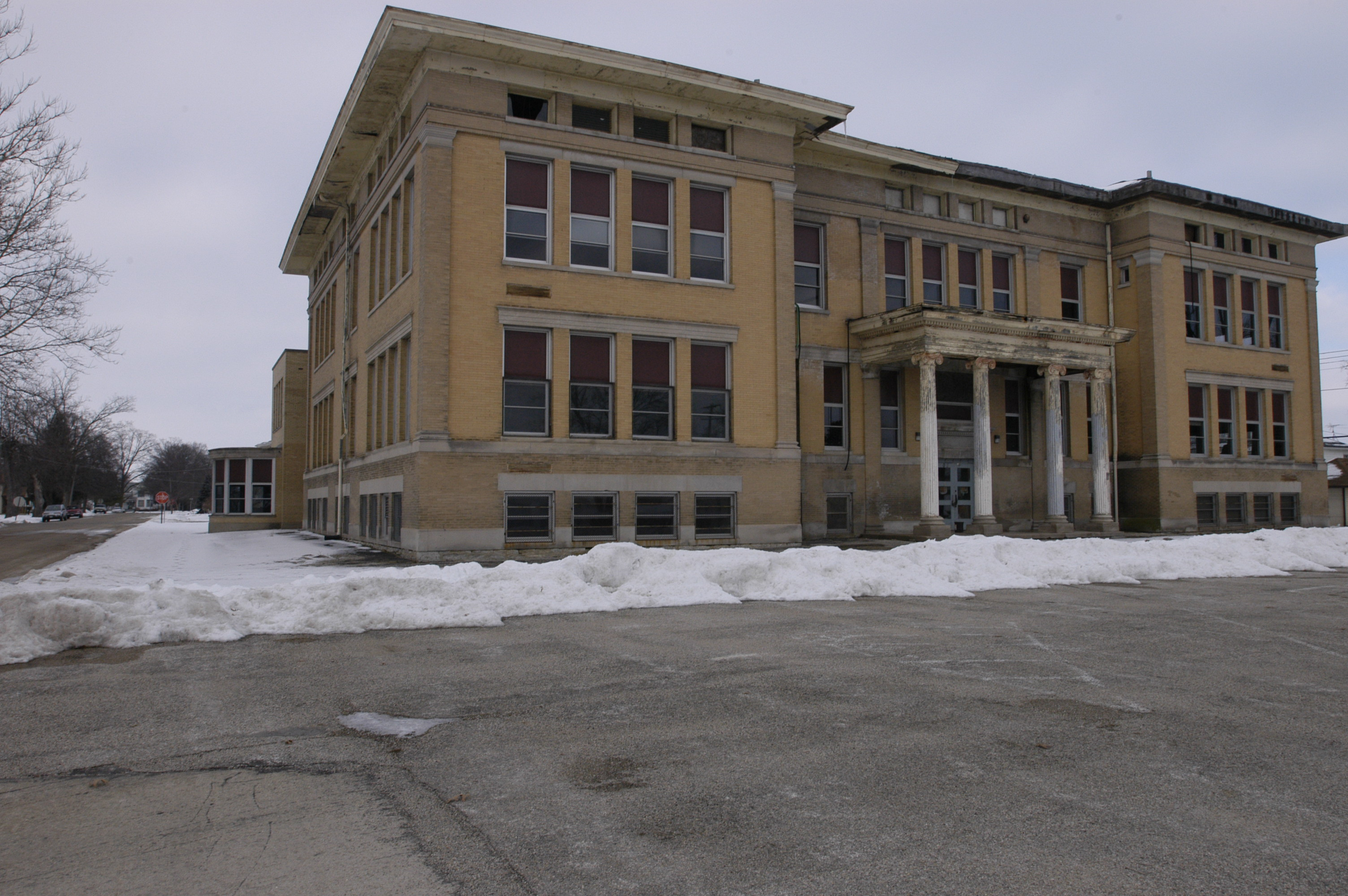 Illinois ogle county polo - File Ogle County Polo Il Abandoned School3 Jpg