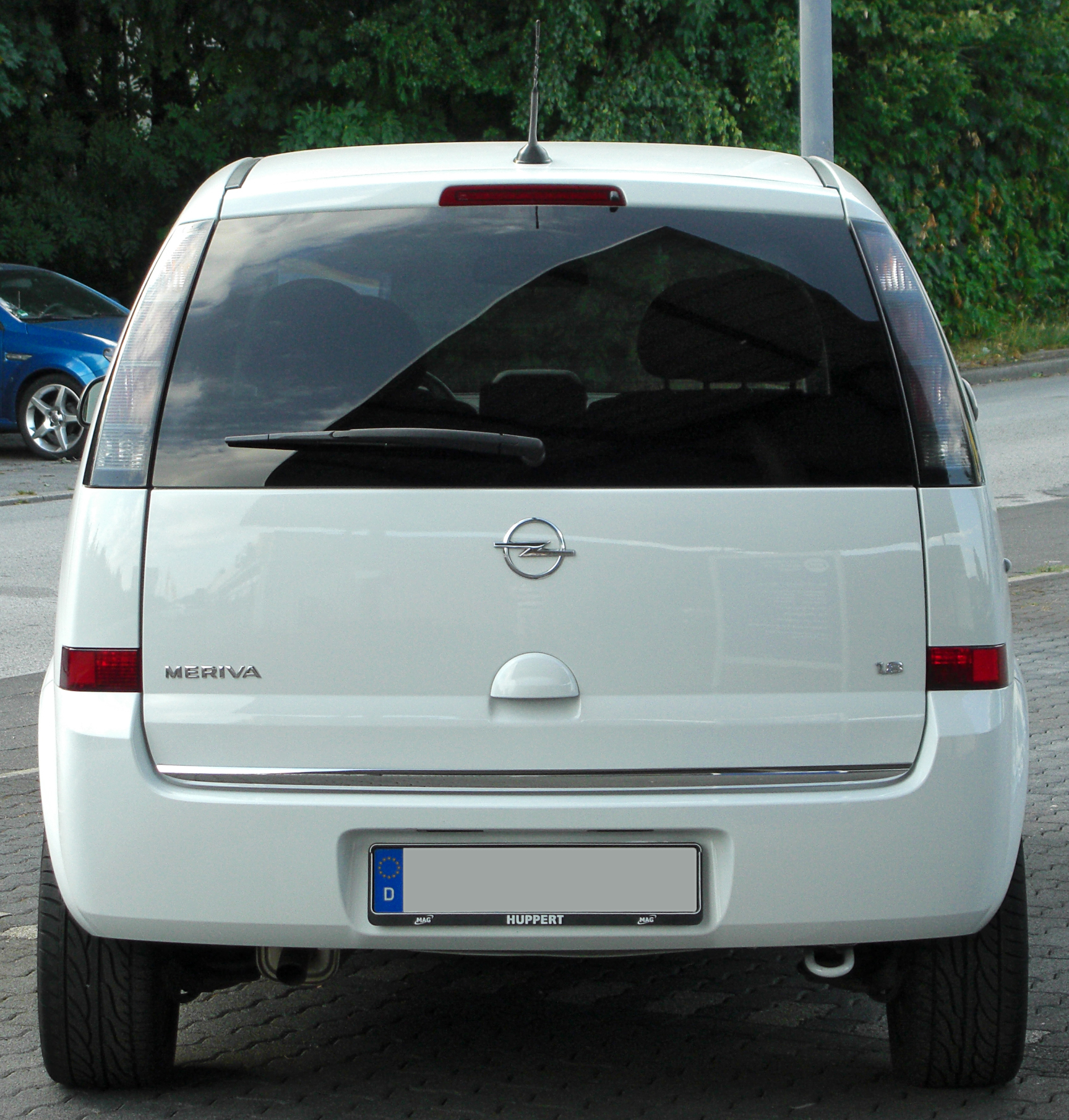 file opel meriva a 1 8 cosmo facelift rear 3 wikimedia commons. Black Bedroom Furniture Sets. Home Design Ideas