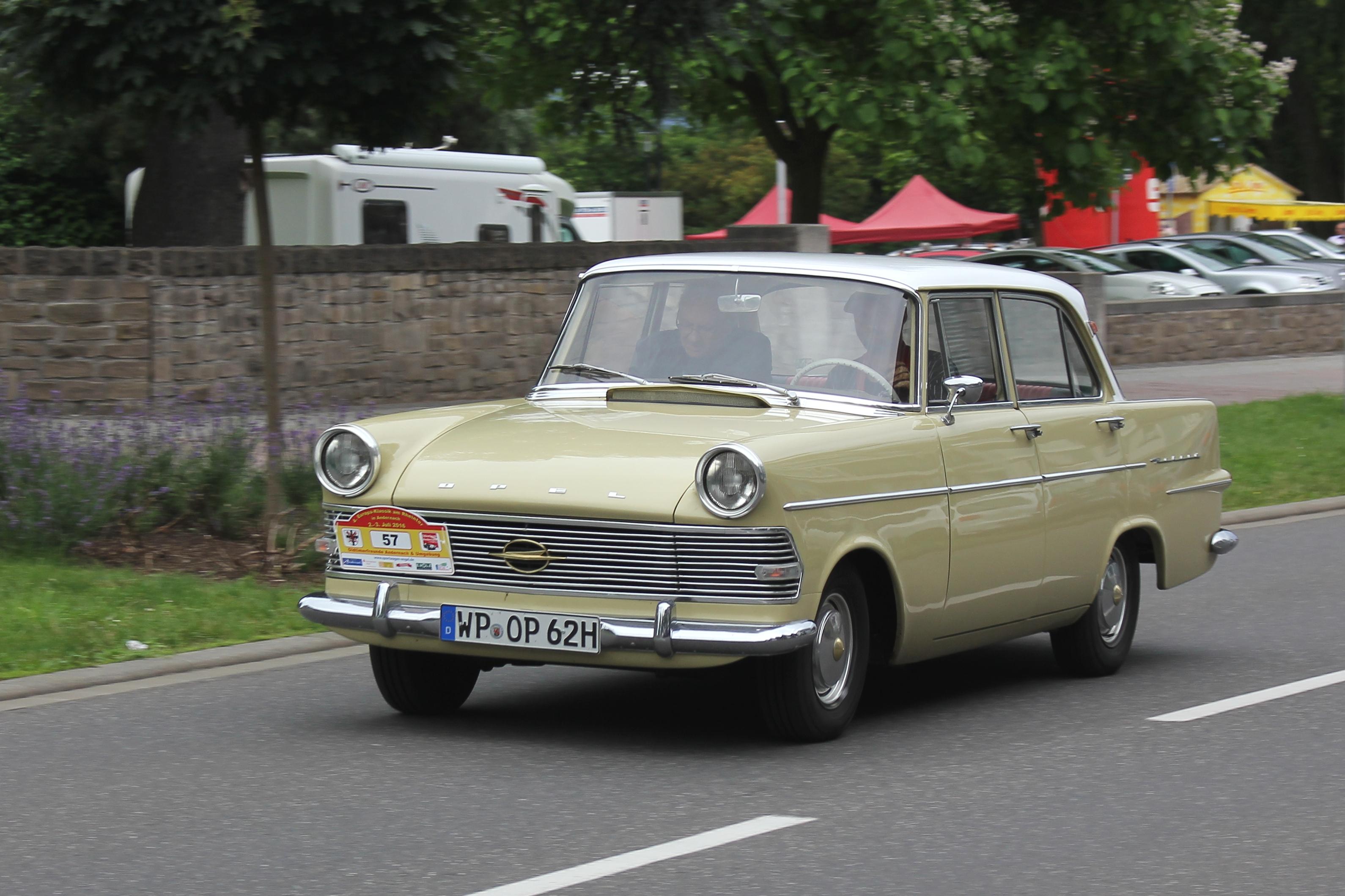 File Opel Rekord P2 Bj 1962 2016 07 02 Sp Jpg Wikimedia Commons