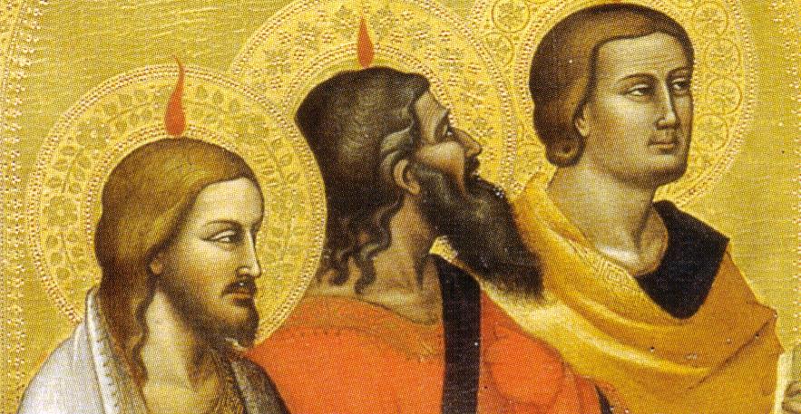 Orcagna e Jacopo di Cione, Pentecoste, 1362-1365 circa, tempera e oro su tavola, Galleria dell'Accademia, Firenze