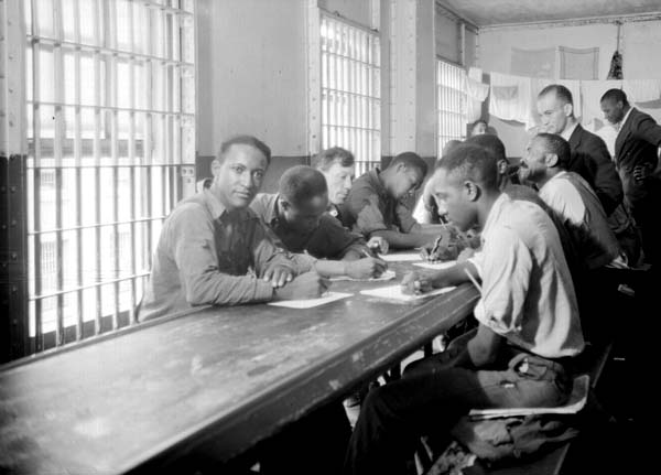 OrleansParishPrisonLiteracyClass1937