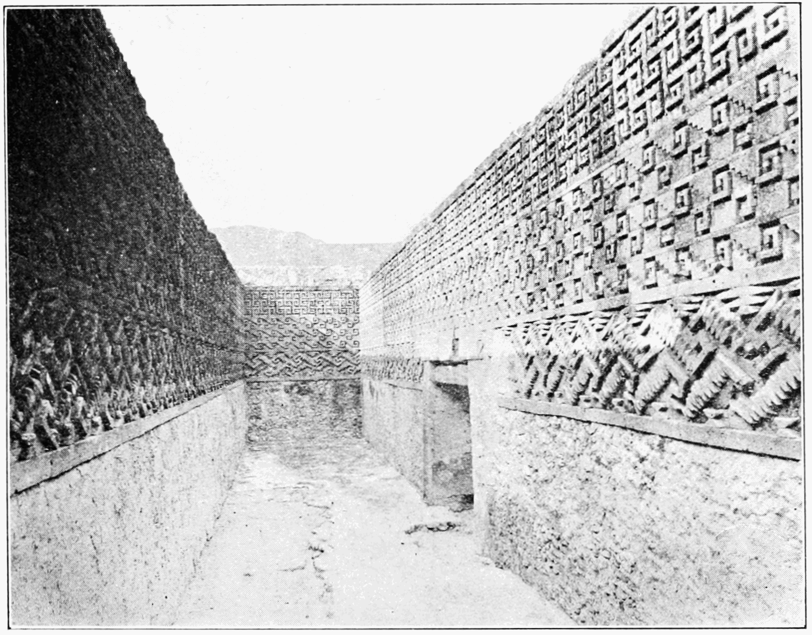 PSM V73 D401 Hall of mosaics on monte alban.png