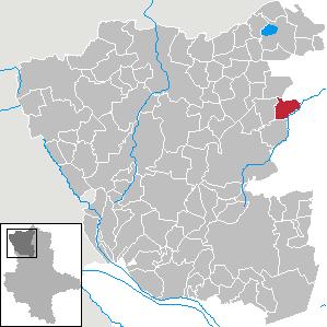 Packebusch Stadtteil of Kalbe in Saxony-Anhalt, Germany