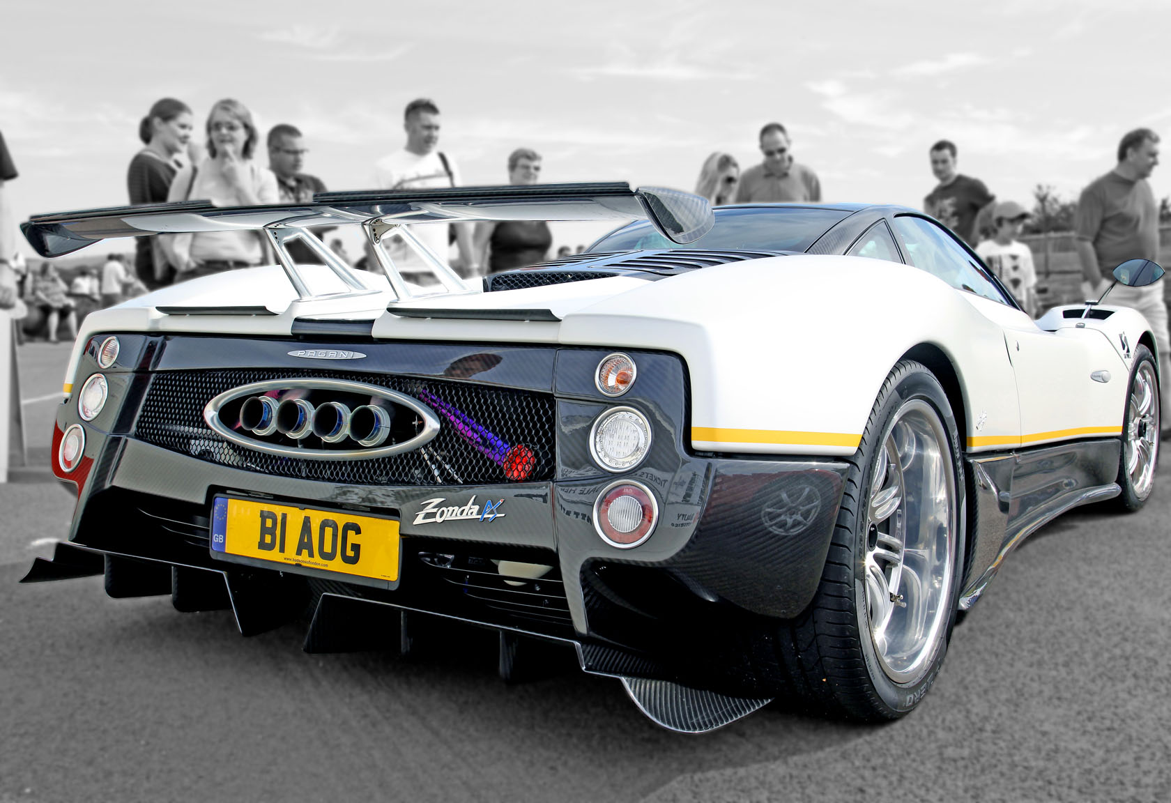 Nice File:Pagani Zonda PS Rear