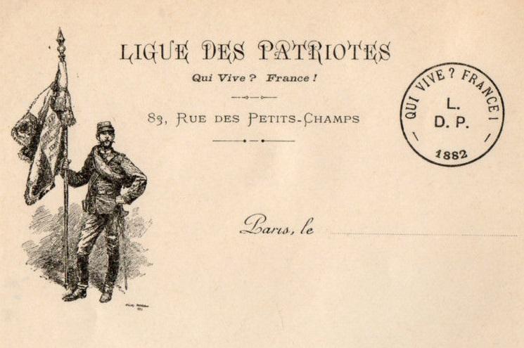 Filepapier à Lettre En Tête Ligue Des Patriotes Avec Vignettejpg