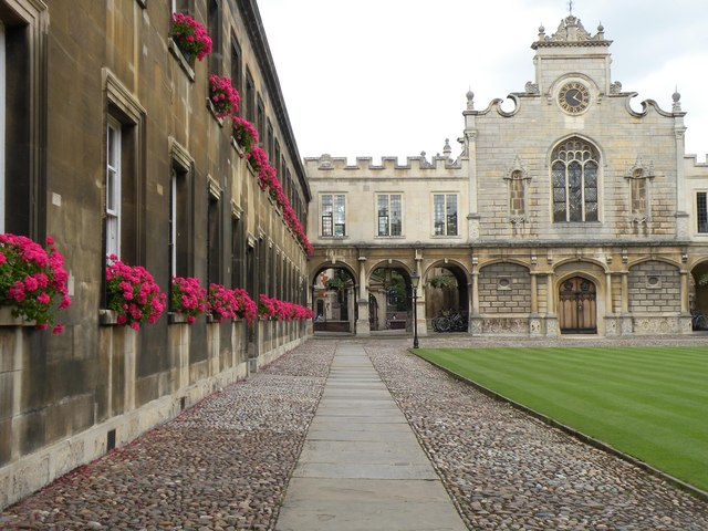 Part of Peterhouse College - geograph.org.uk - 1508178