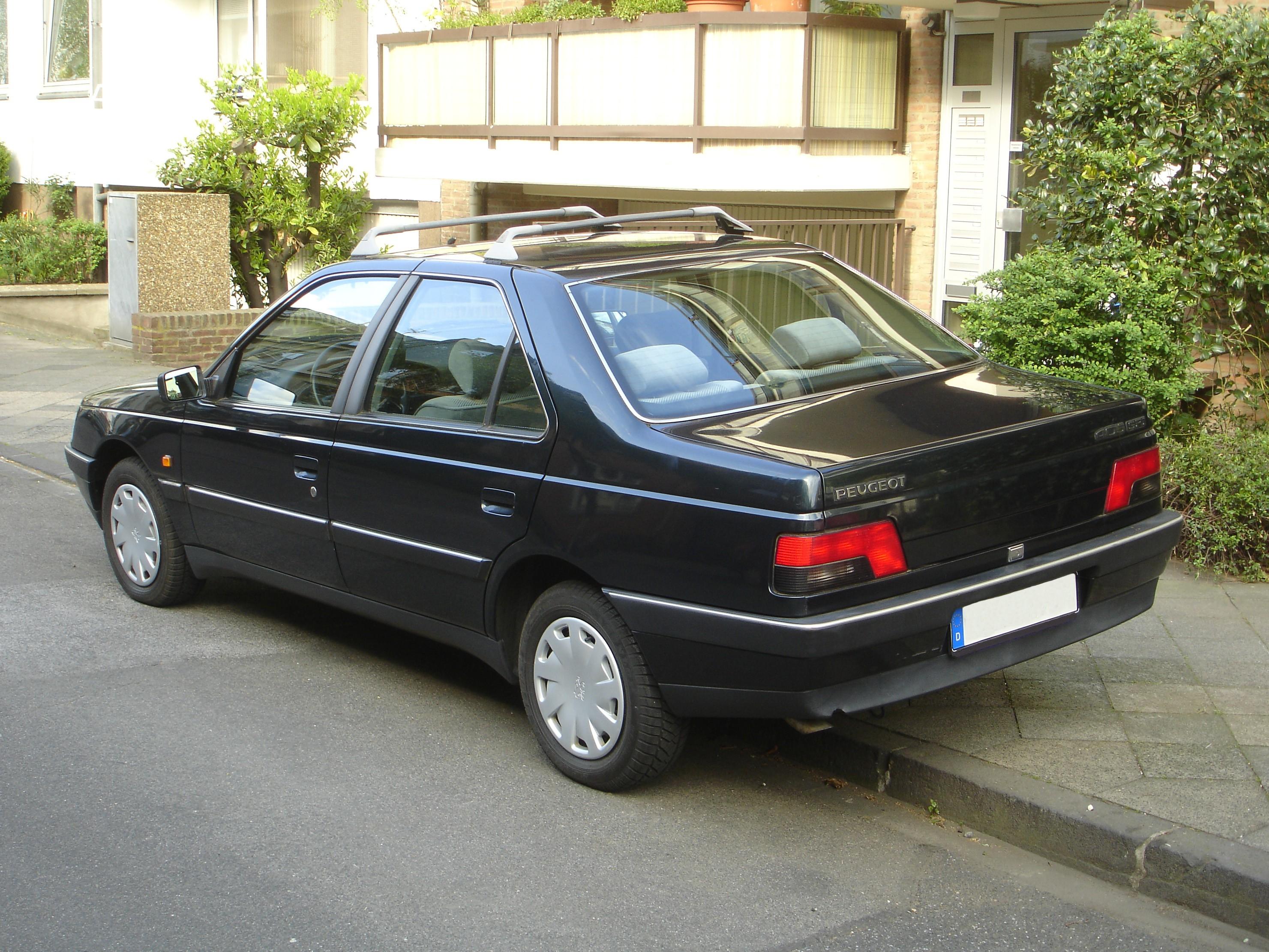 File:Peugeot-405-Limousine-Modell-1993-Heck.jpg