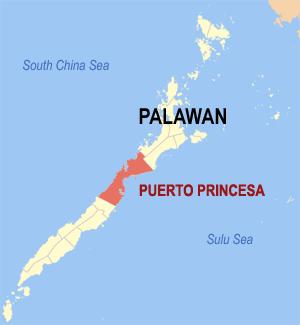 Situación del Río Subterráneo de Puerto Princesa