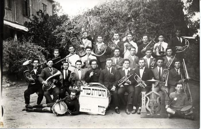 תזמורת כינור ציון בזמן מופע בפתח תקוה