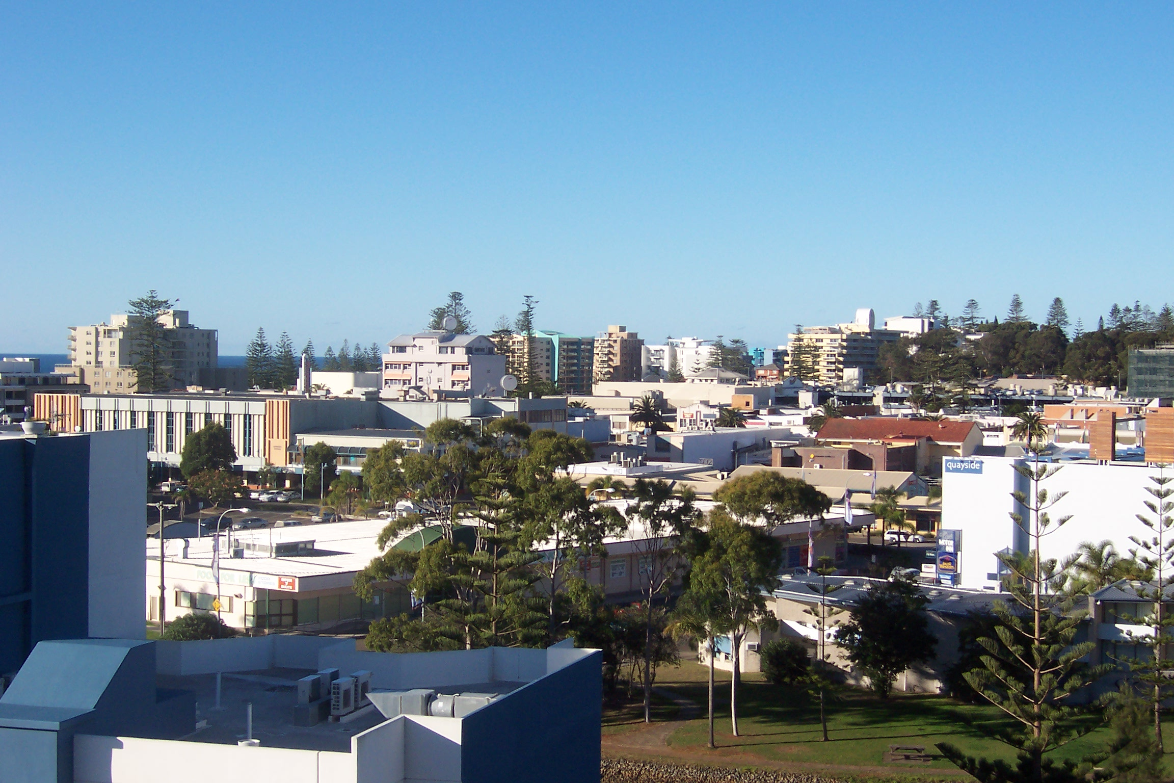 Port Macquarie Australia  City new picture : Port Macquarie CBD in June 2007