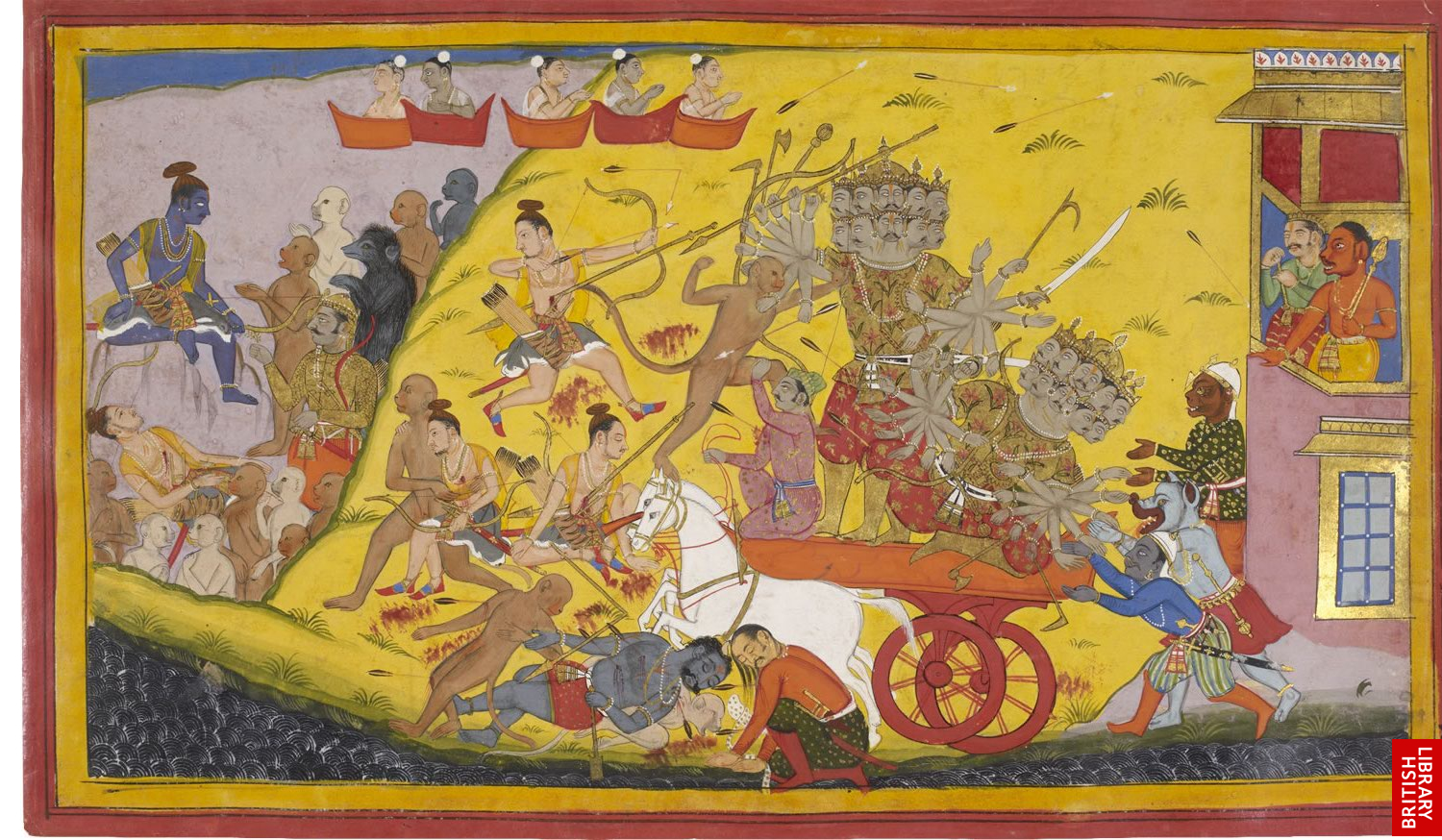 history of ramayana In the hindu epic the ramayana, the demon-king ravana captures sita rama,  her husband, secures her release only after waging a long and brutal war.